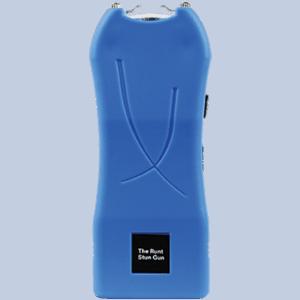 runt stun gun rechargeable blue front view